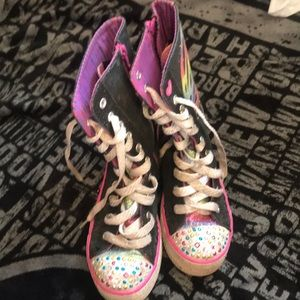 Sketchers little girl shoes size 2